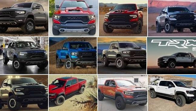 2021 Ram 1500 TRX Trucks For Sale In BC